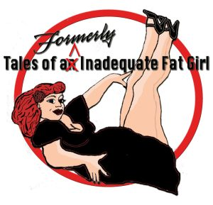 fat girl logo pinup