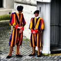 Swiss Guard in Vatican City