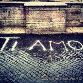 Graffiti near Villa Medici