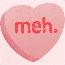 meh heart