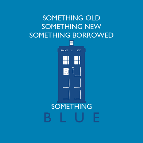 something blue tardis
