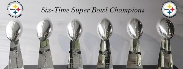 six time super bowl Steelers