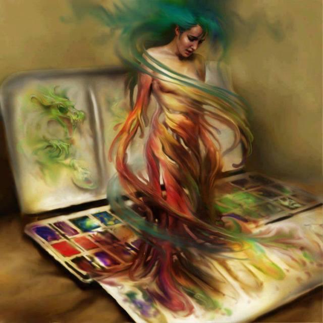 """""""Pandora"""" by Steve De La Mare"""