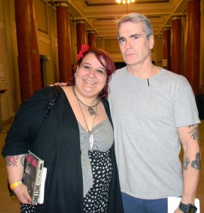 Me and Henry Rollins