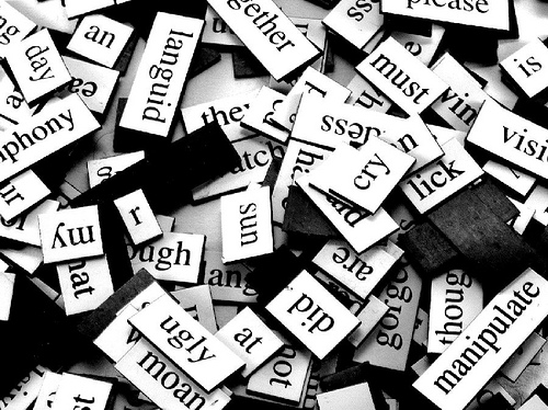 poetry words magnets