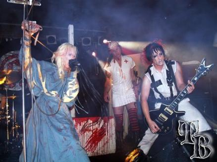 Genitorturers - live band photography