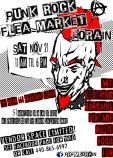 Original flier design for Punk Rock Flea Market Lorain