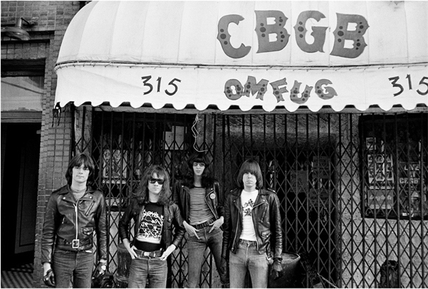 The-Ramones-at-CBGB-Rock-NYC-Storefront-Photo
