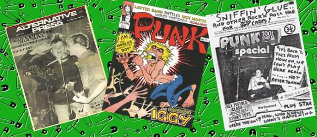 old school punks DIY magazines