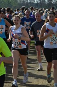Eastleigh 10k March 2012 - PB: 51:06