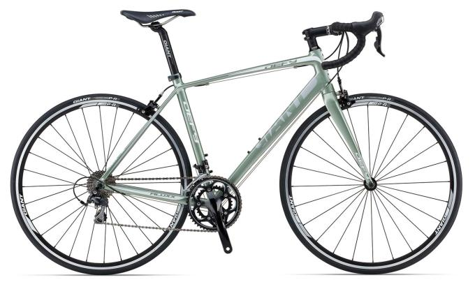 Stuart's new bike: a Giant Defy