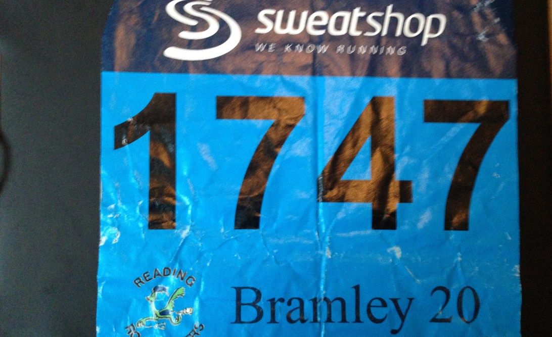 Bramley 20 race number