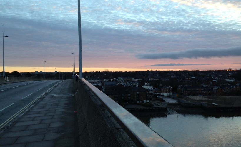 View from the Itchen Bridge