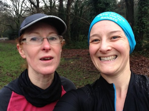 17.5 miles done with Teri