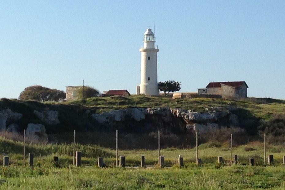 White lighthouse