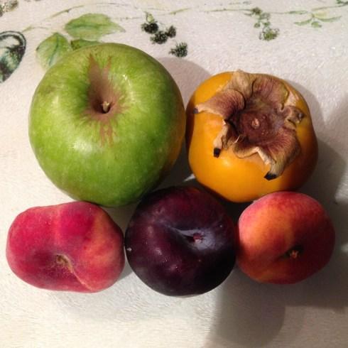 Mmmm - fruit!