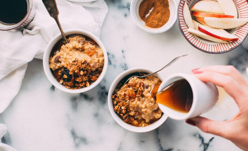 Whatever floats your oats - overnight oats
