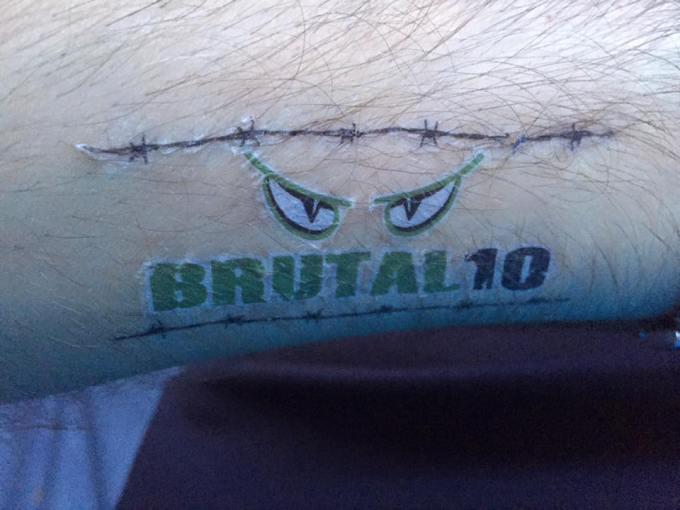 Stus temporary tattoo