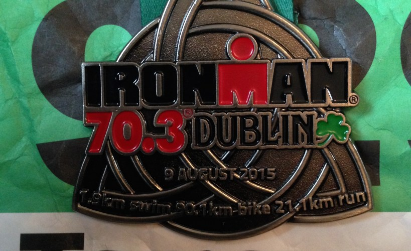 Ironman Dublin 70.3 medal