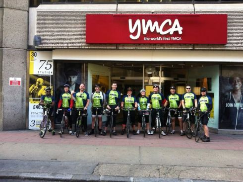 Our final stop in front of the world's first YMCA