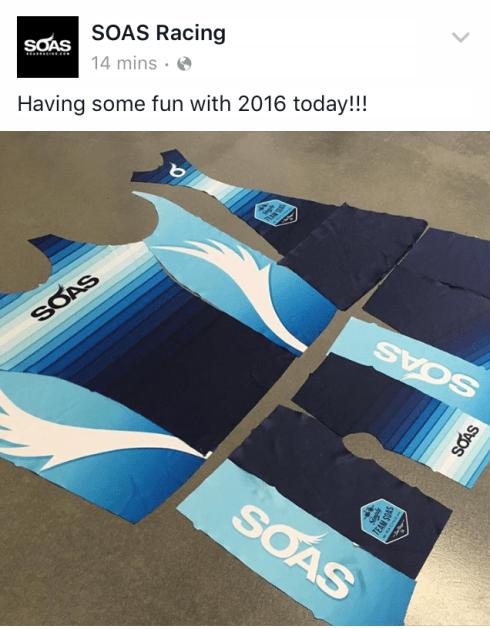 SOAS Racing 2016 kit