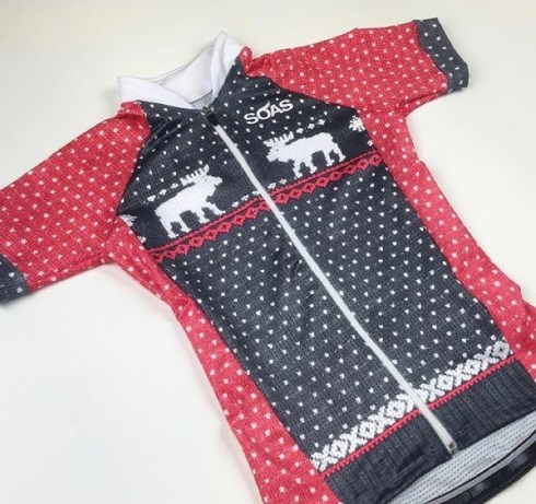 SOAS Christmas jersey