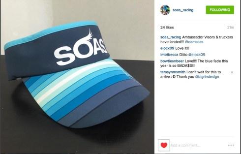 SOAS visor 2016