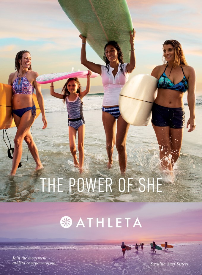 athleta advert