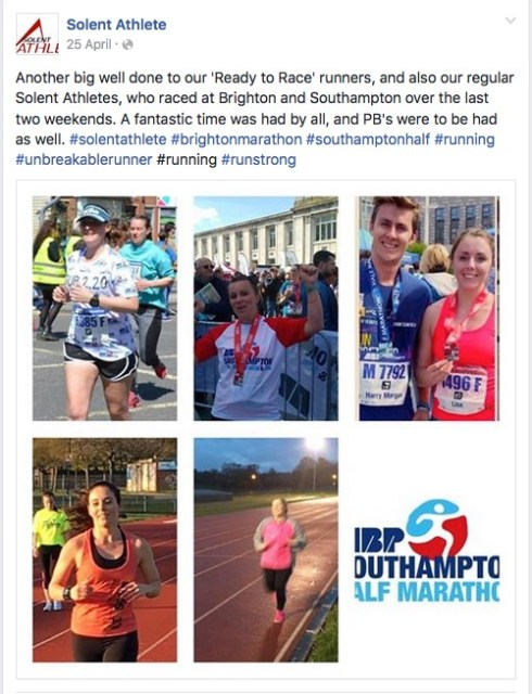 Solent Athlete 25th April
