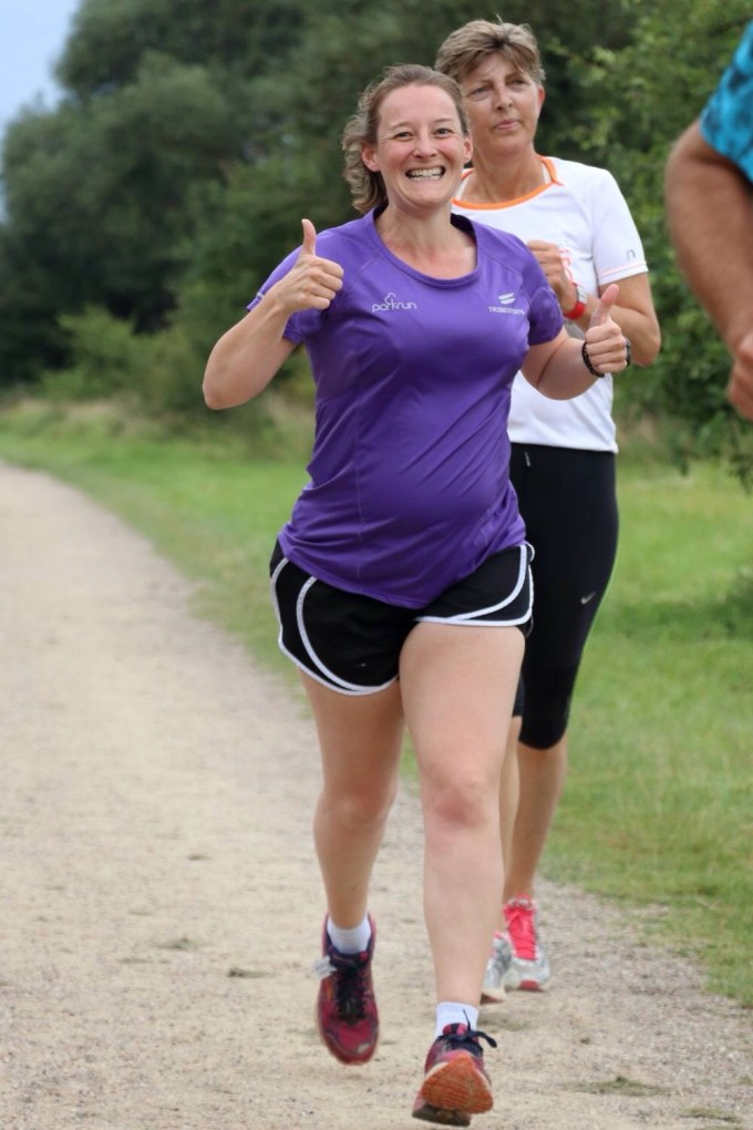 Running at Amager Faelled parkrun