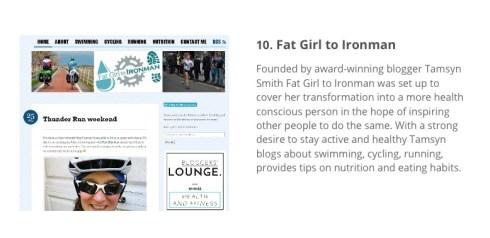 Vuelio Top 10 screenshot of FGTI