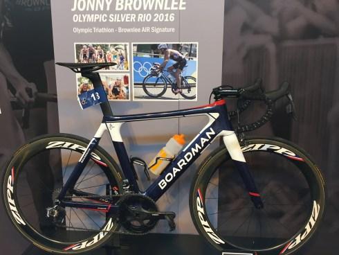 Jonny Brownlee's Boardman from the Rio Olympics