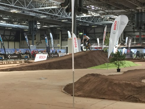 Another view of the mountain bike test track