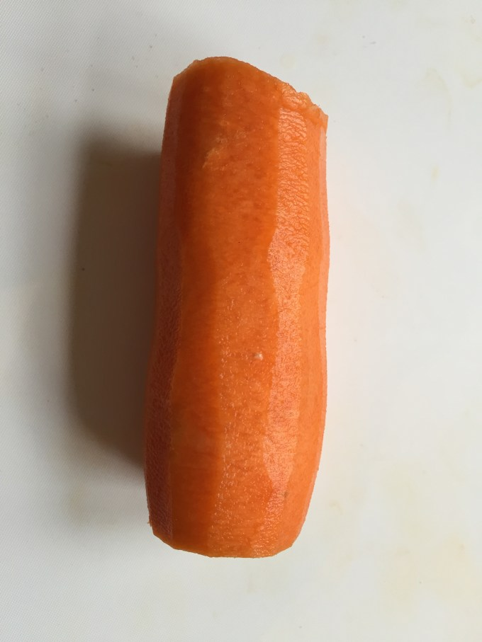 A raw carrot