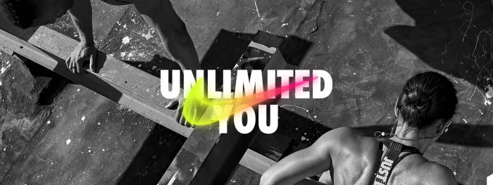 Nike Unlimited You sign