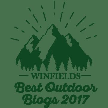 Winfields Best Outdoors Blogs 2017 badge