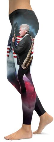 Bill Clinton GearBunch leggings