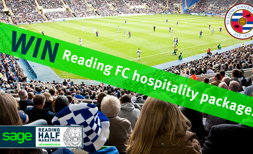 Reading FC hospitality package competition image