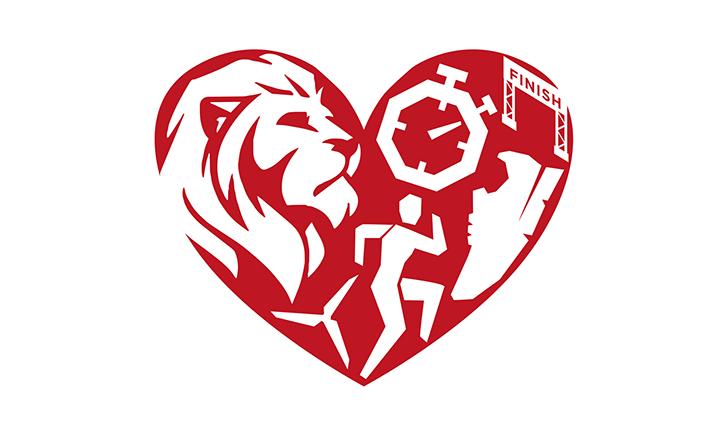 Reading Half Marathon Valentine's logo