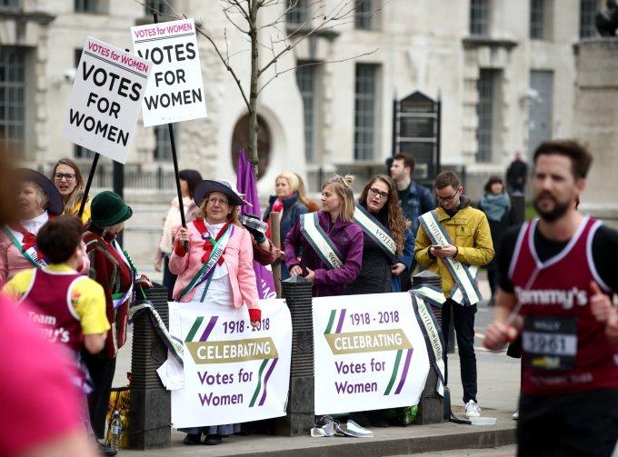 Suffragist Pageant