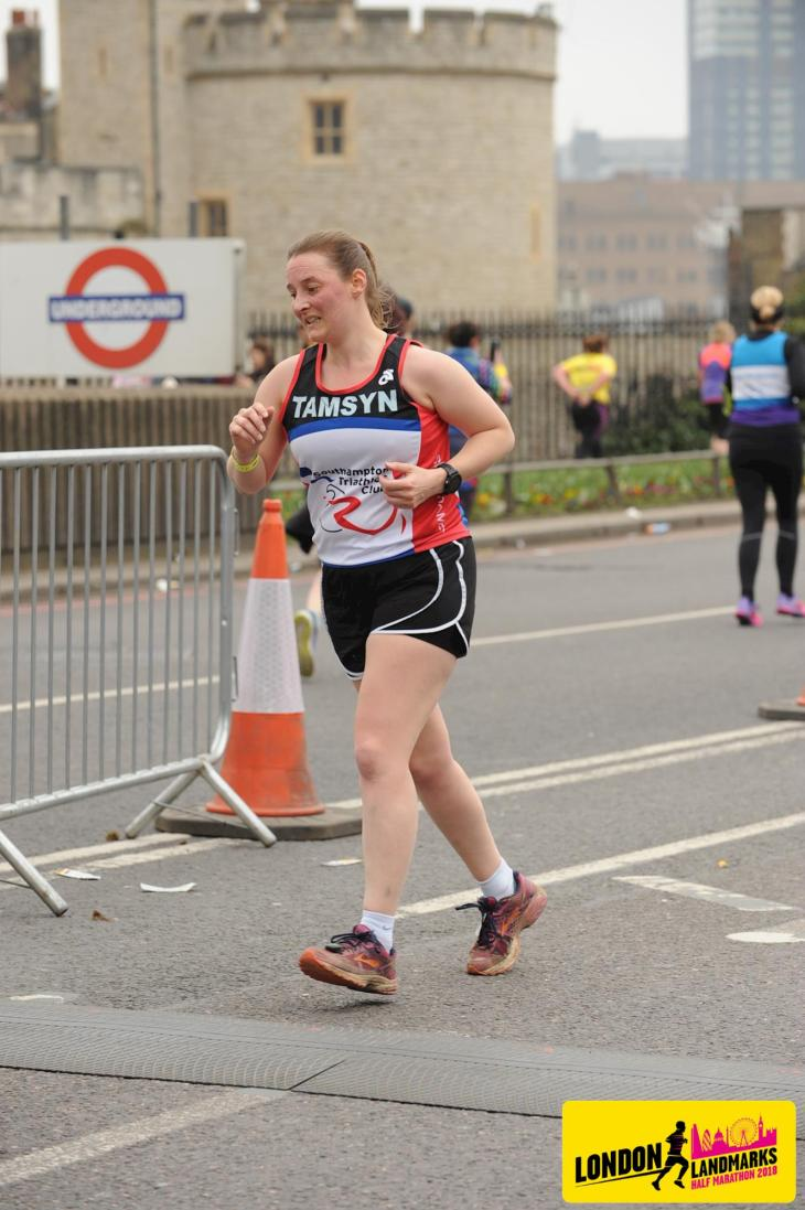 Official race photo of Tamsyn