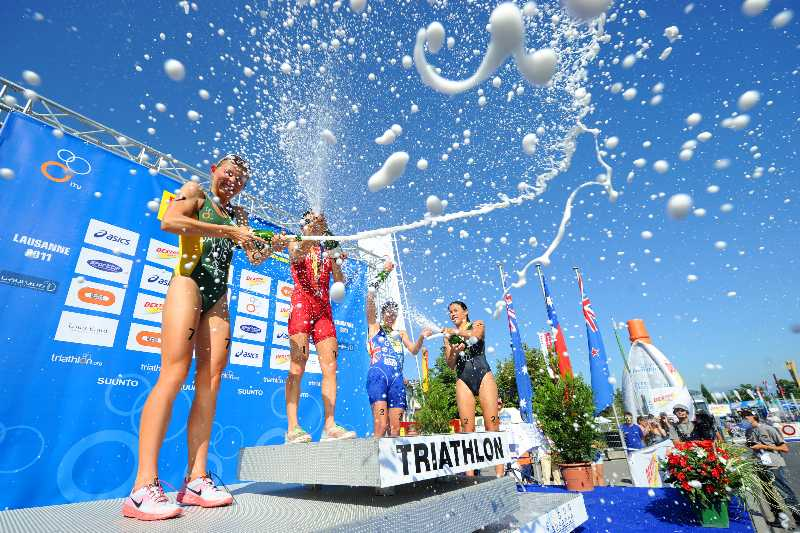 Emma Jackson's second place at ITU Lausanne 2011