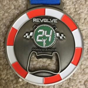 Revolve24 six hour challenge medal