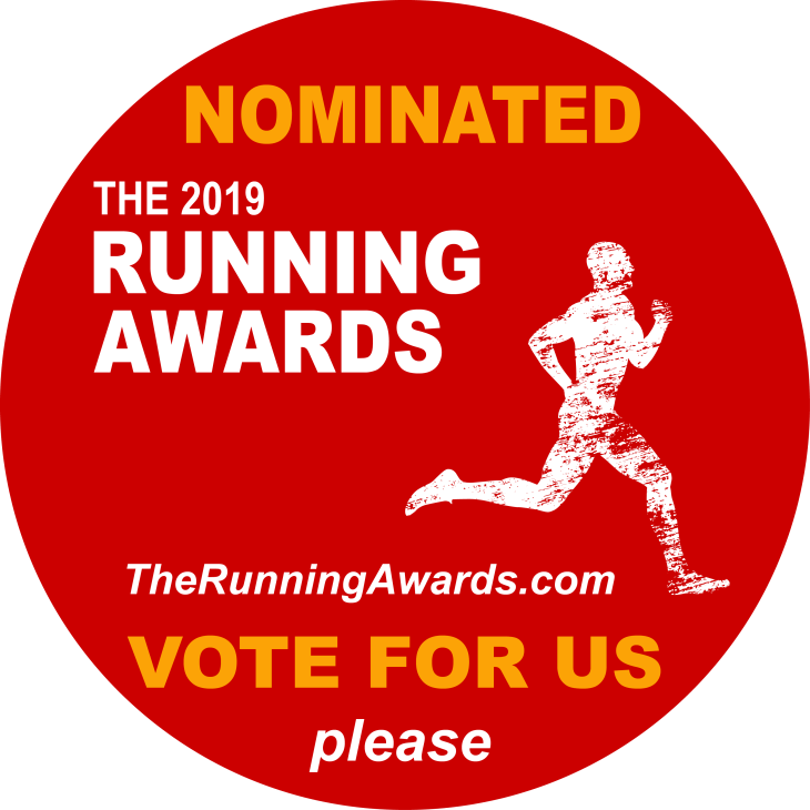 The Running Awards badge