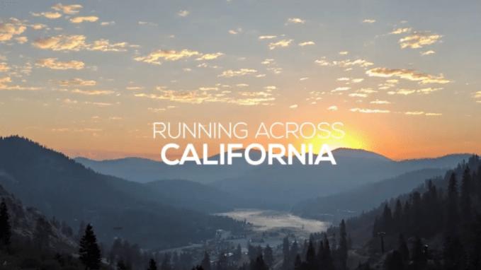 Running across California a film about Ali Butler Glenesk