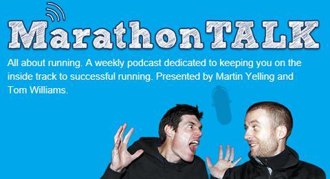 MarathonTALK logo