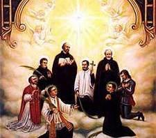 St. Isaac Jogues, St. John de Brébeuf  & Companions, Martyrs