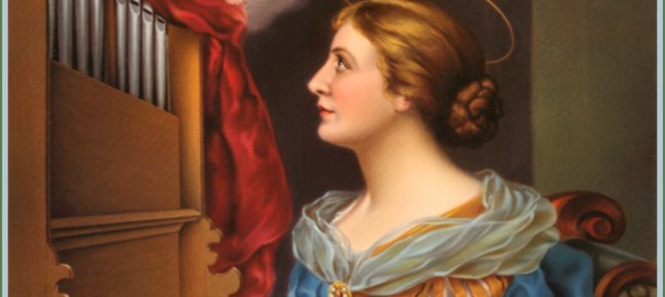 Saint Cecilia, Virgin and Martyr