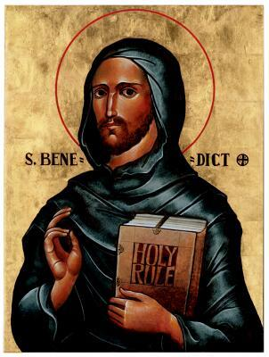 Saint Benedict, Abbot, Father of Western Monasticism