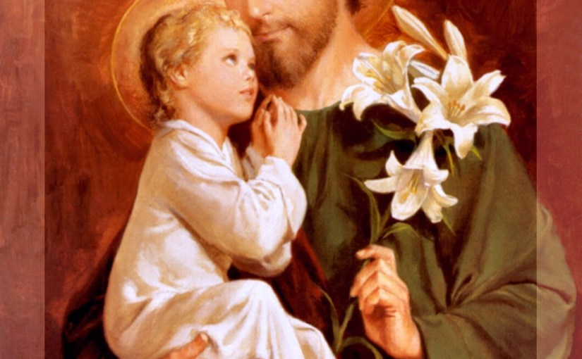 St. Joseph, Husband of the Blessed Virgin Mary, Foster Father of Our Lord